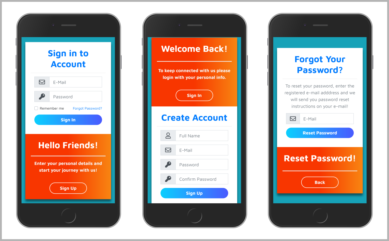 Responsive Form Design Using Bootstrap 4